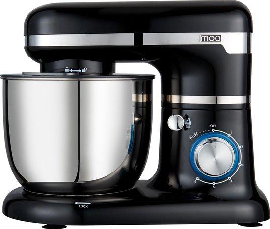 MOA SM1203NB Keukenmachine (Zwart)