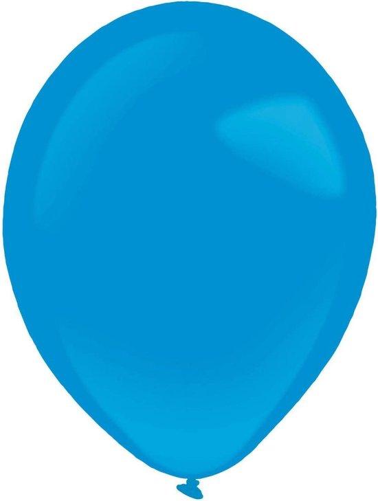 Amscan Ballonen 13 Cm Latex Blauw 100 Stuks