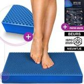 wiebelkussen blauw  - 2in1 balance pad - balanskussen - Sportstech BPX100