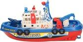 Afbeelding van Speelgoed brandweer boot plastic speelgoed