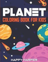 Planet Coloring Book For Kids
