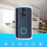Video deurbel - Draadloos – inclusief batterijen en ontvanger - App via Android & iOs-intercom - bewegingssensor-Nachtmodus functie -infrarood Opslaan in cloud - Ring bel - slimme deurbel
