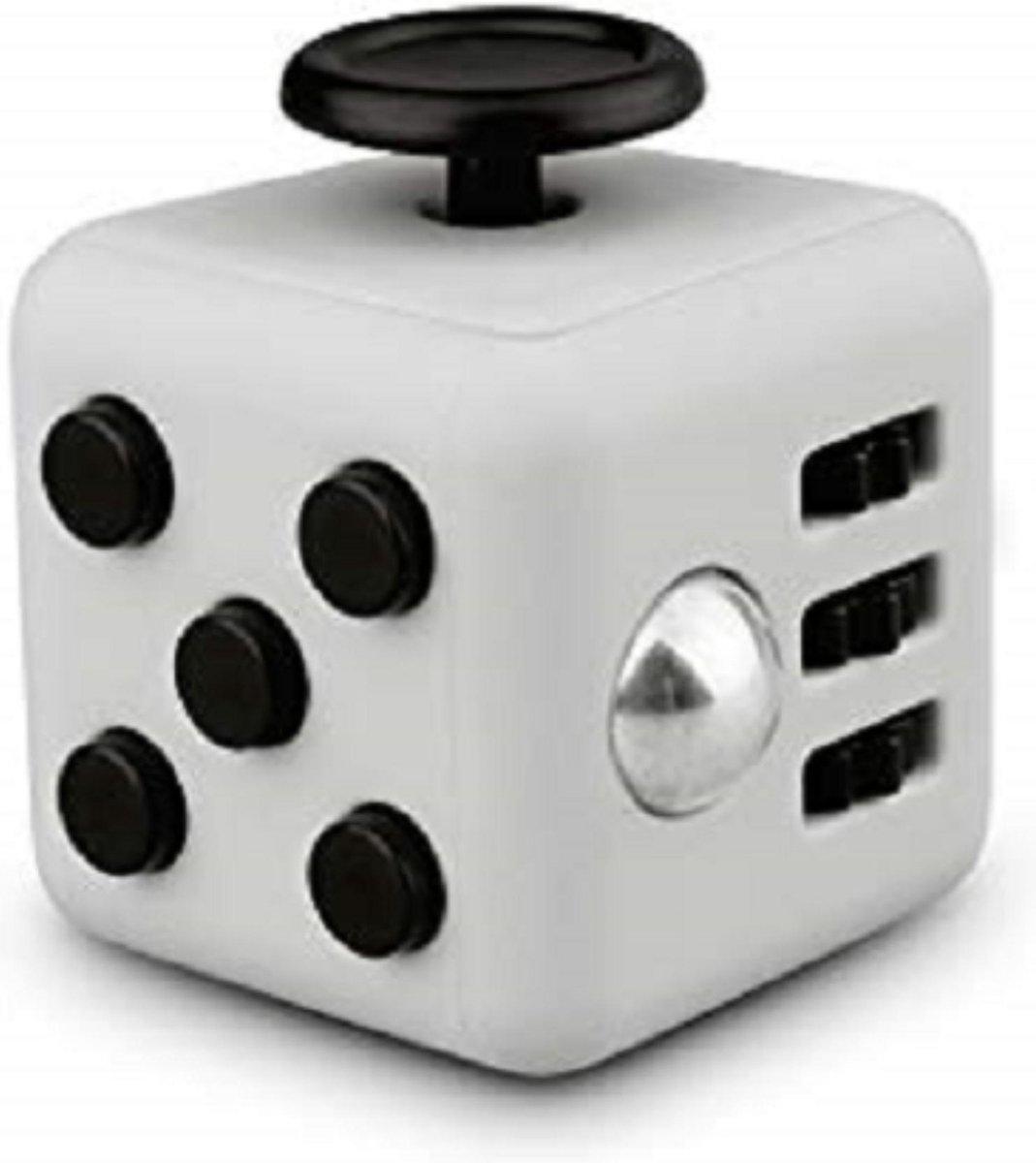 Tokomundo Fidget Cube - Anti Stress Speelgoed - Stressbal - Stressbal voor Hand - Friemelkubus - Fidget - Zwart