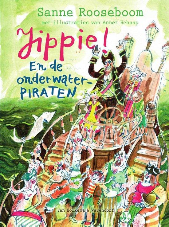 Boek cover Prinses Super 3 - Jippie! En de Onderwaterpiraten van Sanne Rooseboom (Onbekend)