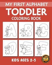 My First Alphabet Toddler Coloring Book