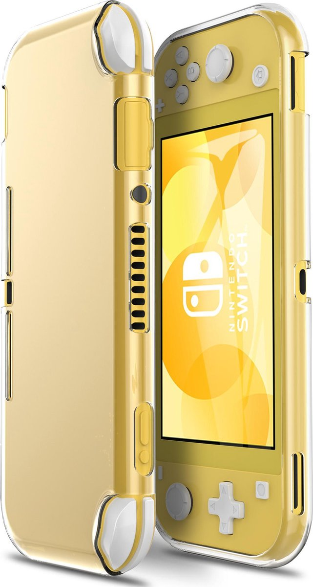 TIKKENS Nintendo Switch Lite Bescherm Case - Transparant - Beschermhoes - Hoesje - Accessoires