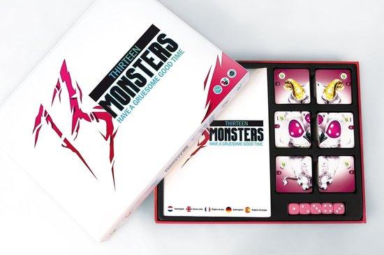 Thumbnail van een extra afbeelding van het spel 13 Monsters | Origineel Gezelschapsspel | Partygame | Actiespel - Nederlands + Engels
