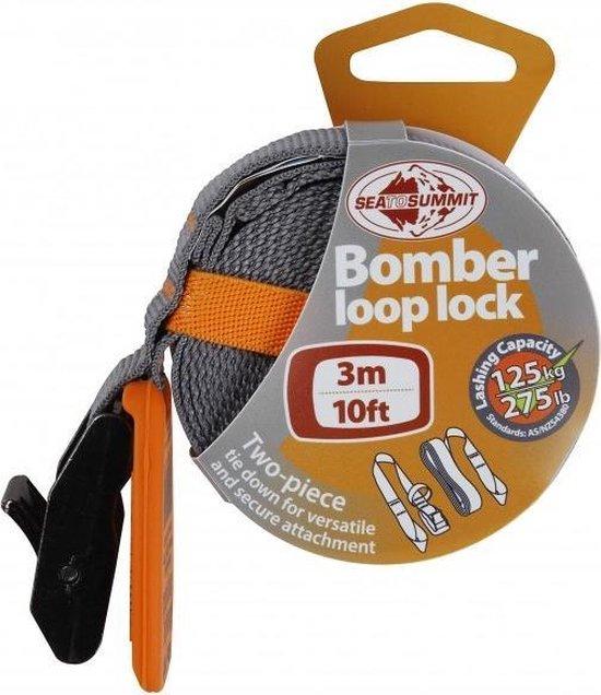 Sea To Summit Bomber Loop Lock Spanband 3 Meter 125 Kg Oranje