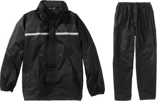 Greenlands Regenpak Basic Rainsuit Unisex - Zwart -Maat L