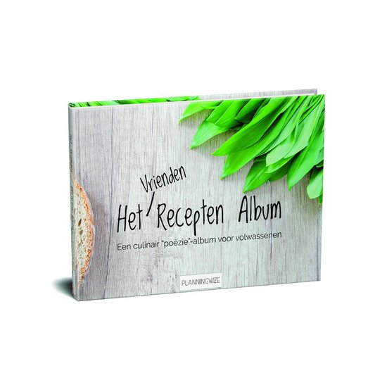 Recepten invulboek - Culinair Poeziealbum -Verzamelalbum Voor Recepten-Kookboek- Notitieboek - - Elvira Pont | Fthsonline.com