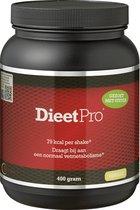 Dieet Pro - Eiwitshake - Voedingssupplementen - Vanille Stevia - 400 gr