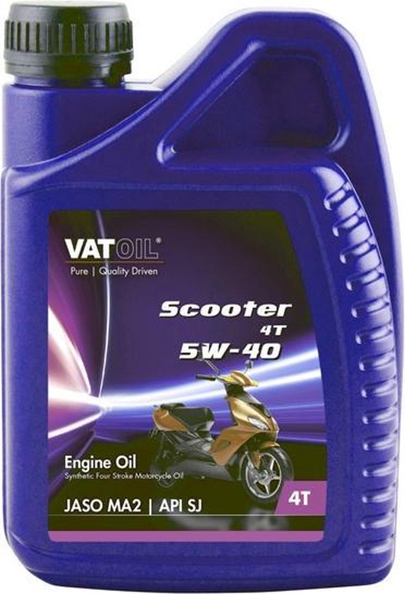Vatoil Motorolie Scooter 4t 5w-40 1 Liter