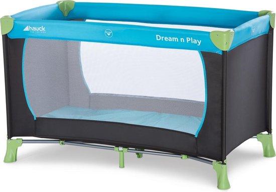 Product: Hauck Dream N Play Campingbedje - Waterblue, van het merk Hauck