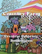Country Farm Creative Coloring Book haven