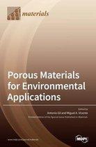 Porous Materials for Environmental Applications