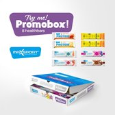 Max Sport - Promobox - Eiwitreep - Proteïne - Collageen - Gluten Vrij - 8 Verschillende Repen - OP=OP!