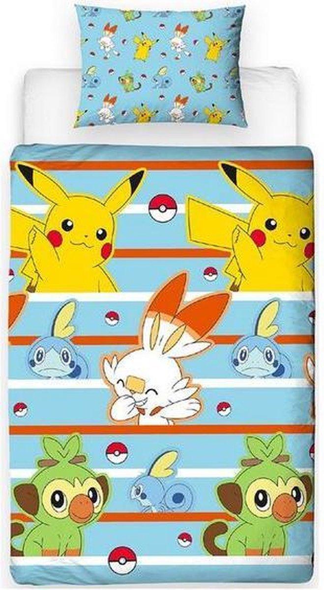 Pokemon Dekbedovertrek 135x200 Polyester kopen