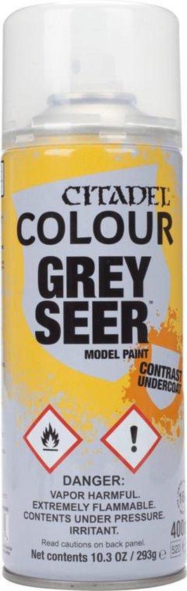 Afbeelding van het spel Citadel Colour Spray Grey Seer 400ML - Spuitbus
