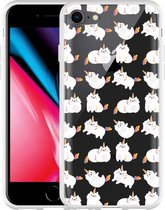 iPhone 8 Hoesje Unicorn Cat