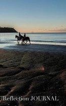 New Zealand beach Reflection blank page Journal