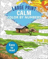 Large Print Calm Color by Numbers