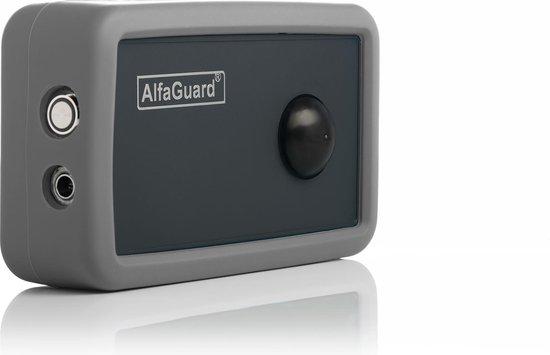 AlfaGuard by OptoSafe.com : GSM draadloos alarmsysteem - Bewegingsmelder(PIR), Trillingssensor en GPS met GeoFence - Overal te plaatsen onafhankelijk van Wifi of Internet - APP en/of SMS bediening - Geen abonnement nodig - Sterk, ingebouwd accupack.