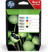 HP 953XL - 3HZ52AE Originele BCMY Multipack