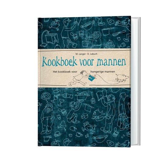 Boek cover Kookboek voor mannen van Michaela Langer