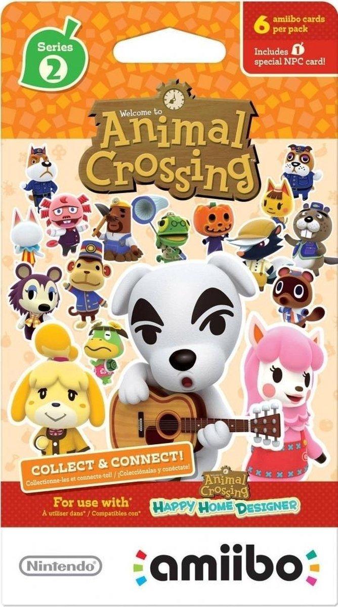 Animal Crossing Amiibo Cards Serie 2 (1 pakje) (6 kaarten)
