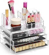 AWEMOZ® Opbergbox - Beauty Make-Up Organizer - Opbergladen & Rekje - 20 Opbergvakken