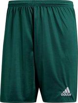 adidas Parma 16 Shorts Heren Sportbroekje - Collegiate Green/Wit - Maat M