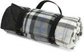 Heerlijk zacht picknickkleed van Fleece met waterdichte beschermlaag  | Makkelijk op te rollen en mee te nemen | Top kwaliteit | Made in the UK