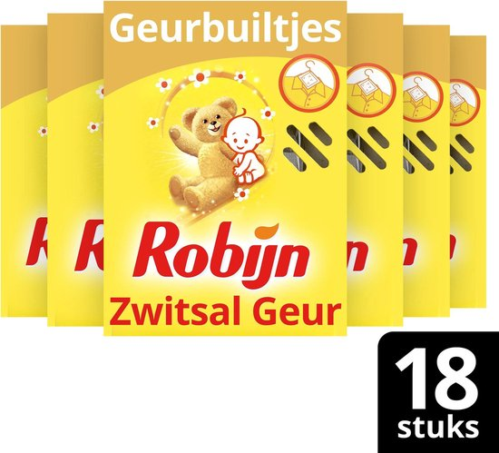 Robijn Geurbuiltje Zwitsal - 6 x 3 stuks - Voordeelverpakking