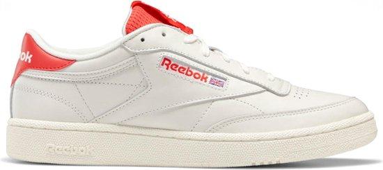 Reebok Sneakers - Maat 38.5 - Mannen - wit/ rood