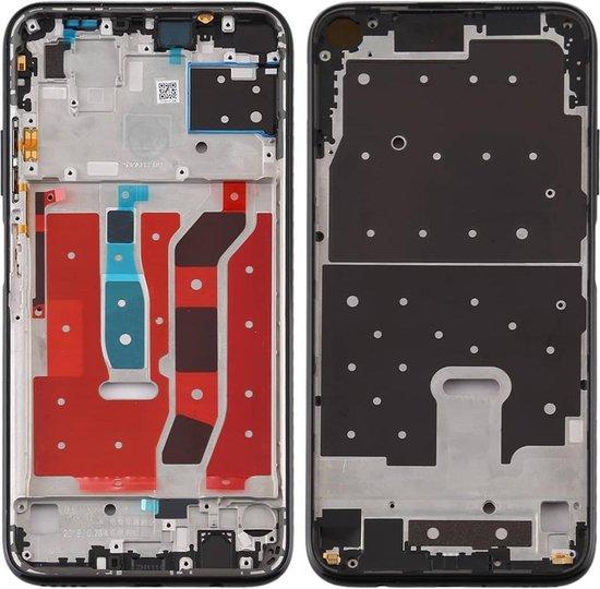 Originele middenkaderring voor Huawei P40 Lite (zwart)