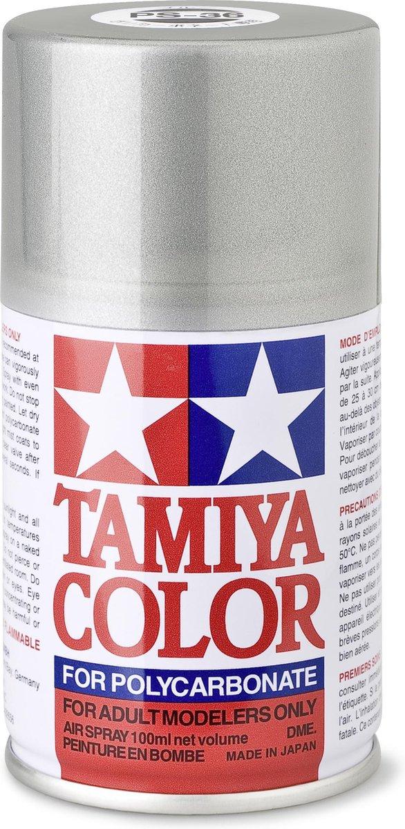TAMIYA PS-36 Translucent Silver (spuitbus 100ml)
