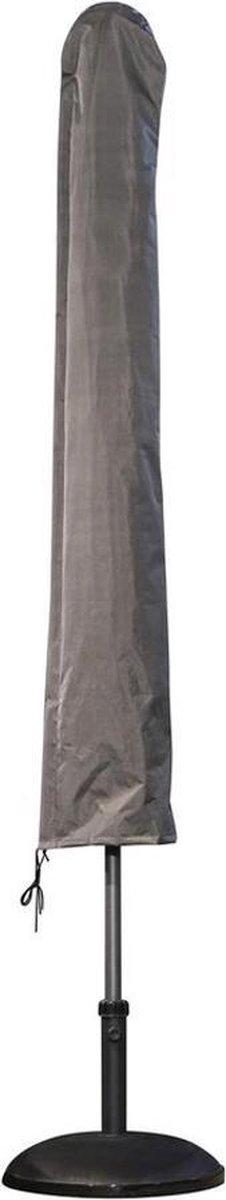 ATLANTIS Weersbestendige Parasolhoes - Rond & Vierkant - Max. 3 x 3 m - Grijs / Antraciet - Stokpara