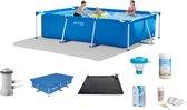 Intex Frame Pool Zwembad - 300 x 200 x 75 cm voord