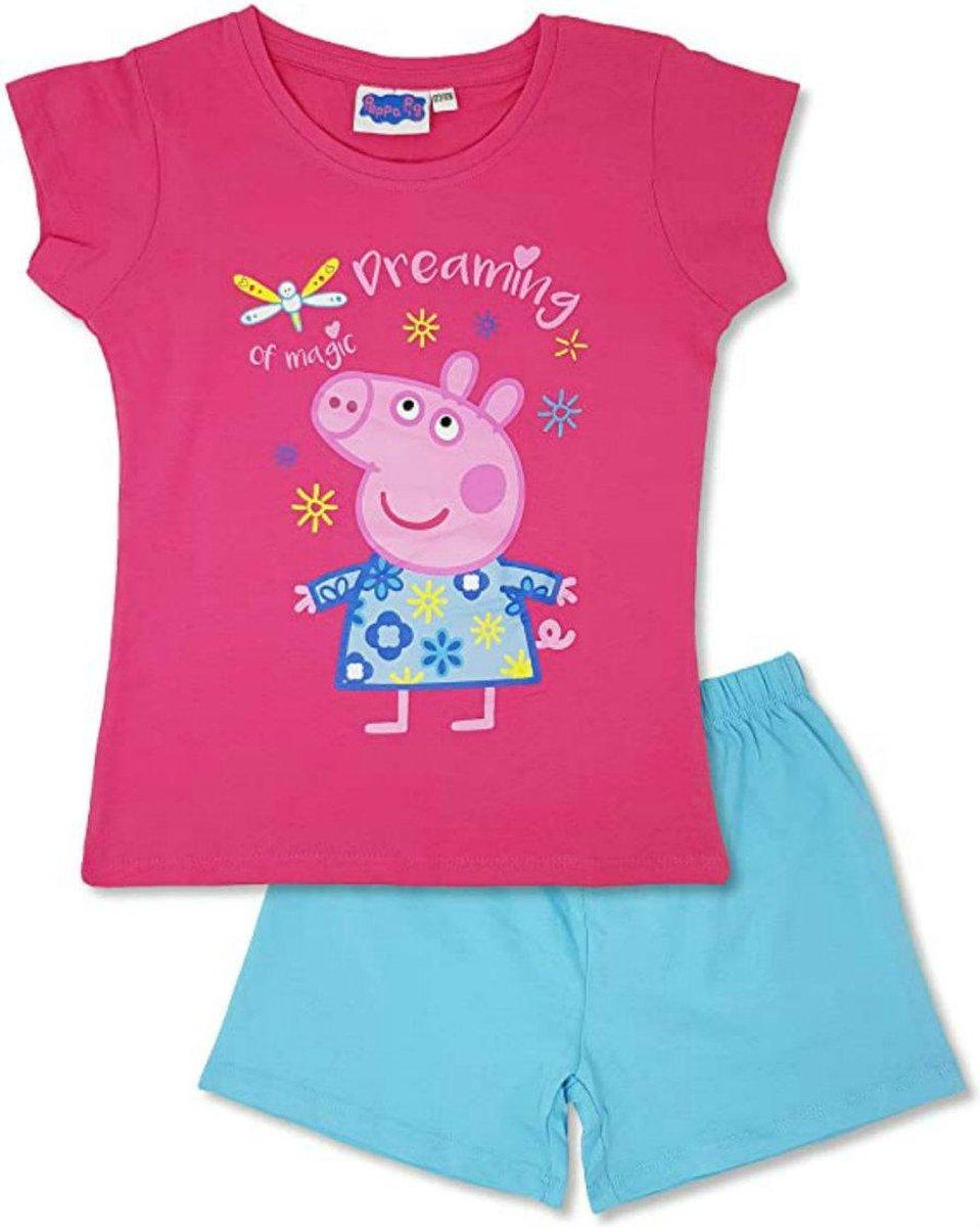 Peppa Pig shortama meisjes pyjama 122/128