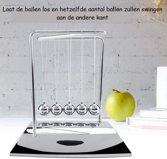 Thumbnail van een extra afbeelding van het spel *Nieuwste Model* - Newton's Cradle – Newtonpendel – Newton Balletjes