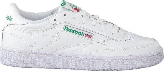 Reebok Club C 85 Sneakers Heren - Intense White/Green - Maat 40.5