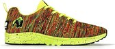Gorilla Wear Brooklyn Knitted Sneakers (unisex) - Neon Mix - 45