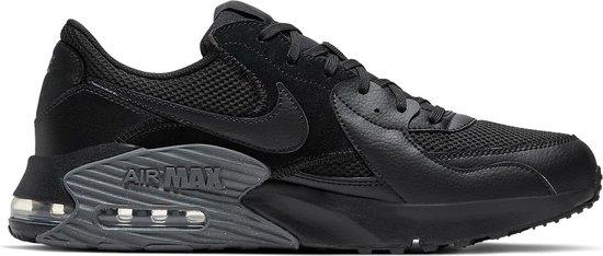 Nike Air Max Excee Heren Sneakers - Black/Black-Dark Grey - Maat 40.5