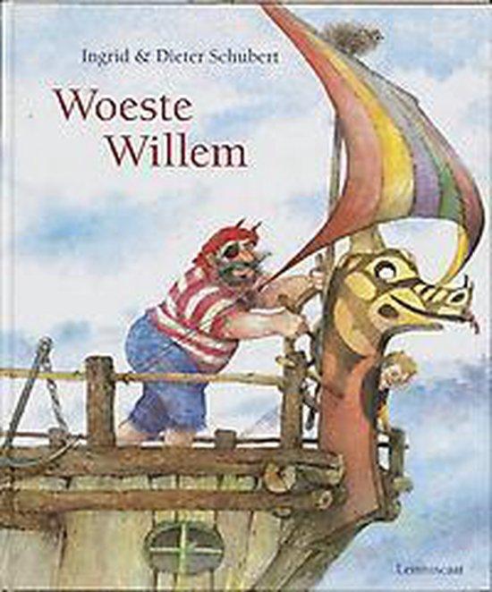 Boek cover Geef een (prenten-) boek cadeau  -   Woeste Willem van Dieter Schubert (Hardcover)