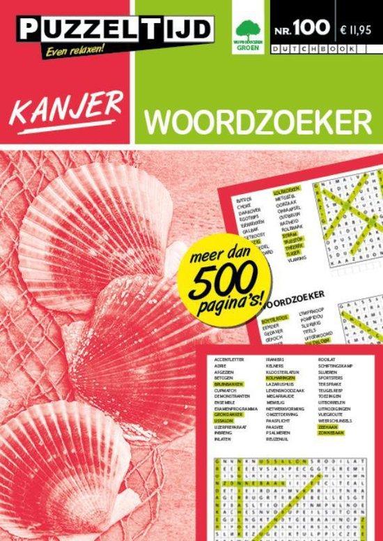 Afbeelding van Puzzeltijd serie Kanjer 100 - Woordzoeker Kanjer Puzzeltijd 100 Woordzoeker