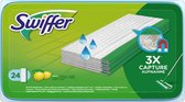 Swiffer Vloerreiniger Vochtige Vloerdoekjes Met Frisse Citroengeur - 24 Navullingen