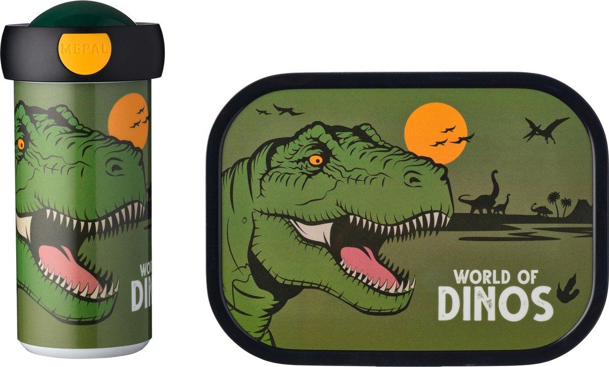 Mepal Campus lunchset - Schoolbeker en lunchbox - Dino