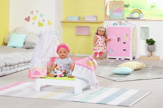 BABY born Kast met Weereendje - Poppenkledingkast