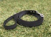 Hondenriem - Antislip Lijn - 3 Meter - Zwart - Training - Volglijn - Looplijn - Speurlijn - Puppy