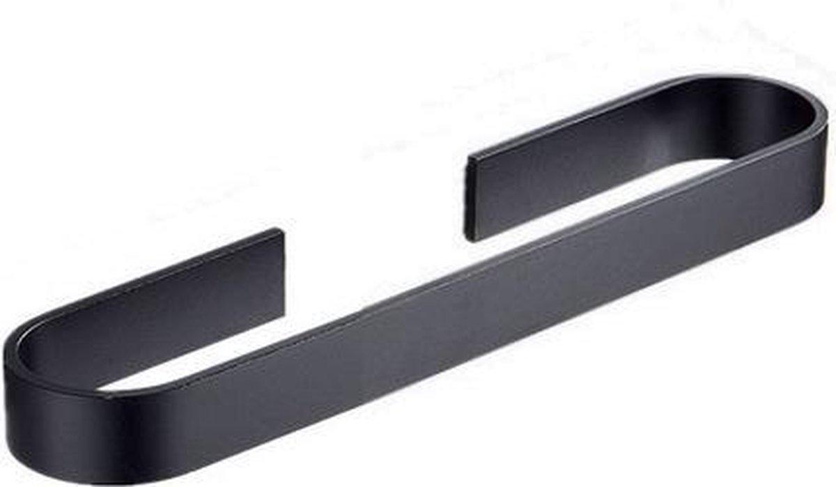 Handdoekhouder Eclipse 50cm zwart